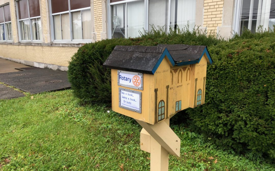 Little Library Gets a Facelift